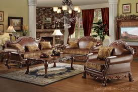 traditional leather living room furniture. Dresden Traditional 3 Pc41418_15160-SET - Furniture Depot Red Bluff StoreFurniture Store Leather Living Room