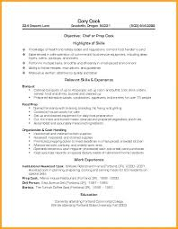 fast food cook resumes cook resume sample doc for cooks resumes job description