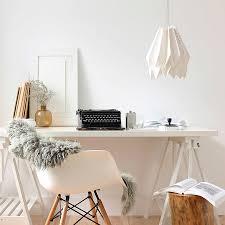 gentle modern home office. Gentle Modern Home Office. Orikomi Lighting Office Lifestyle D