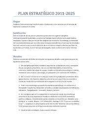 Plan Estrat Gico 2011