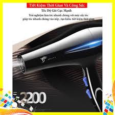 Máy Sấy Tóc Deliya Công Suất 2200W - Hàng Loại 1 - Siêu Bền giá tốt giảm  chỉ còn 119,000 đ
