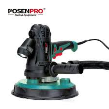 posenpro 1240w 230mm variable sd handheld drywall sander with sandpaper dust hose and collection bag