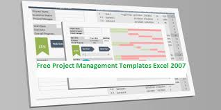 Project Management Plan Excel Free Project Management Templates Excel 2007 Project Plan Download