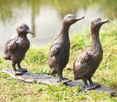 destiny image of duckling metal garden ornaments gardensite co uk