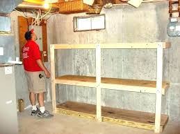 wood shelving garage build garage shelves garage storage cabinets how to build shelves in a shed