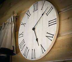 farmhouse wall clock rustic wall clock wall clock large wall clock wooden wall clocks large decorative