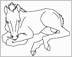 Coloring Pages Of Horses Pretty Horse Coloring Pages Best Of