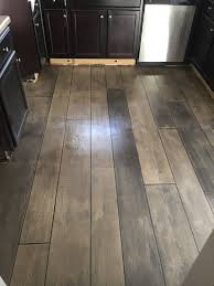 Concrete Kitchen Flooring Weathered Gray Concrete Wood Kitchen Floor Fayetteville Nc
