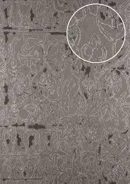 Barok Behang Atlas Cla 599 8 Vliesbehang Gestructureerd Met