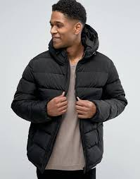 Celio | Celio Quilted Hooded Jacket &  Adamdwight.com