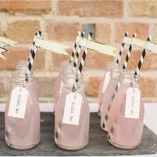 Milk Bottle Decorating Ideas Mini School Milk Bottle Milk bottles Garden theme and Weddings 7
