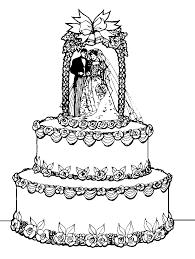 Kayat Kandi De Bruidstaart Kleurplaat