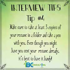 Interview Tip Interviewing Tip 4 1bc Consulting
