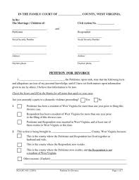 Virginia Divorce Forms Pdf Resume Exa Nayvii