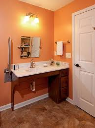 handicapped accessible bathroom sink counter. wheelchair-accessible bathroom vanity #sinks \u003e\u003e get more great tips for disability living handicapped accessible sink counter m