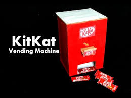 Mini Chocolate Vending Machine Inspiration How To Make KitKat Chocolate Vending Machine At Home DIY Homemade