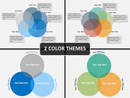 Venn Diagram In Ppt Venn Diagram Powerpoint Template Sketchbubble