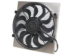 electric cooling fans. derale single high output electric radiator fan cooling fans b
