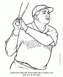 Free Printable Baseball Coloring Sheets Sandlot Birthday ...