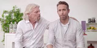 Ryan Reynolds Launches Gin Partnership With Richard Branson, Who ...