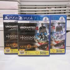 USED GAME - Ps4 hit bundle 3 in 1 games ...