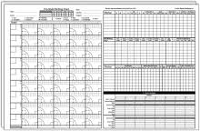 Softball Pitching Chart Template Pro Style Pitching Charts