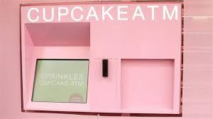 Sprinkles Cupcakes Vending Machine Locations Fascinating Video Sweet Cupcake ATM Opens In Manhattan Metropolis WSJ