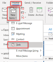 how to create a recurring task in