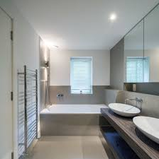 modern towel rack. Wall Mounted Towel Rack Bathroom Contemporary With Colour Scheme Bathroom. Image By: COUPDEVILLE Modern