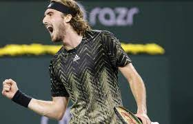 Stefanos Tsitsipas reacts to escaping shock loss to Fabio Fognini