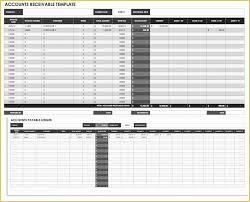 Schedule Of Accounts Receivable Template Free Accounts Receivable Template Of Free Cash Flow