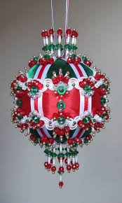 Beaded Christmas Ornament Kit Evelyn By Glimmertree On Etsy Christmas Ornament Kits