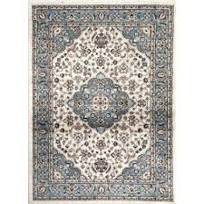 traditional oriental medallion design blue 7 ft in x 2 9x9 area rugs canada n square rug area