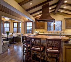 Country Rustic Kitchen Designs Kitchen Designs With Breakfast Bar Kitchen Rustic With Wood Beam