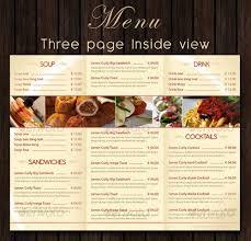 Food Menu Design Best Restaurant Menu Design Rome Fontanacountryinn Com