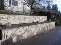 recycled concrete retaining walls 19 1 of 2