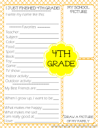 printable kids end of school year printable the pinning mama 4th grade kids end of school year interview