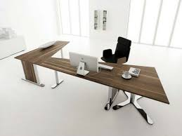contemporary dark wood office desk. Furniture Extensive Home Office With White Wall And Floor Amusing Windows Design Unique Wooden Modern Brown Desk Stylish Table Legs Contemporary Dark Wood