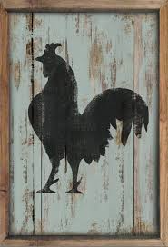 wooden rooster sign framed out in reclaimed wood in red blue yellow or mint green handmade distressed art could go in modern country or traditional  on rooster wall art for kitchen with wooden rooster sign framed out in reclaimed wood rooster art rooster