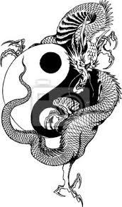 Tetování Tygr A Drak