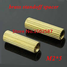 sourcingmap® 100 Pcs M2 Female Thread Pillar Standoff ...