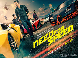 new release car moviesNeed for Speed UK movie poster confirms 3D release new Muscle Car
