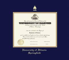 Diploma University Of Illinois Diploma Frame