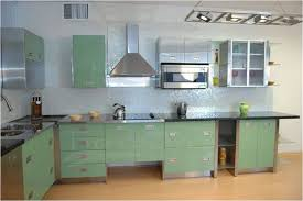 stainless steel kitchen cabinets color