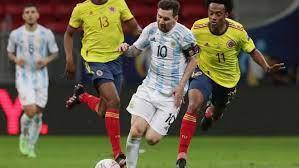Marcador final: Argentina vs Colombia ...