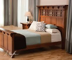 styles of bedroom furniture. craftsman bedroom design dark hardwood bed frame with higher headboard multicolored linen light toned and gloss wood floors of mission style decorating styles furniture c