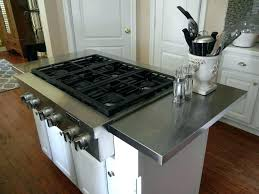 stainless steel countertops diy large size of kitchens metal nautical star wall