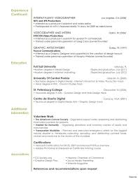Video Editor Resume Examples | Resume For Study