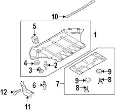 parts com® audi a8 quattro radiator support oem parts 2004 audi a8 quattro l v8 4 2 liter gas radiator support