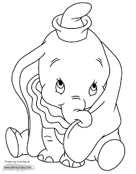 Enter youe email address to recevie coloring pages in your email daily! Dumbo Coloring Pages 2 Disneyclips Com